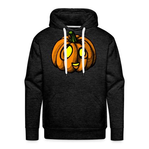 Pumpkin Halloween scribblesirii - Mannen Premium hoodie