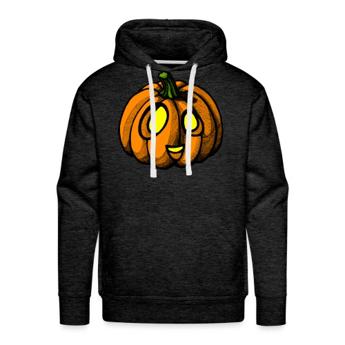 Pumpkin Halloween scribblesirii - Miesten premium-huppari
