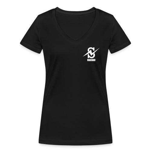 T-shirt (Col Rond) (Femme) - T-shirt bio col V Stanley & Stella Femme