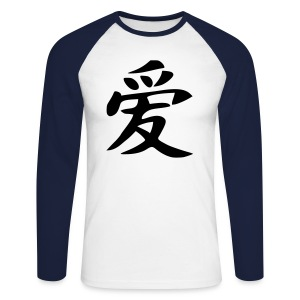 Chinese Sportwear - T-shirt baseball manches longues Homme