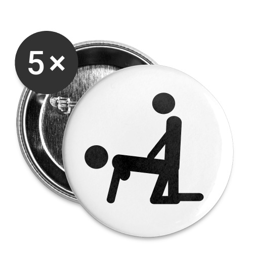 F..k Every Where - Badge petit 25 mm