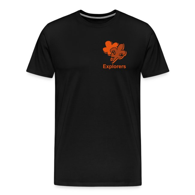 Explorers t-shirt Heren
