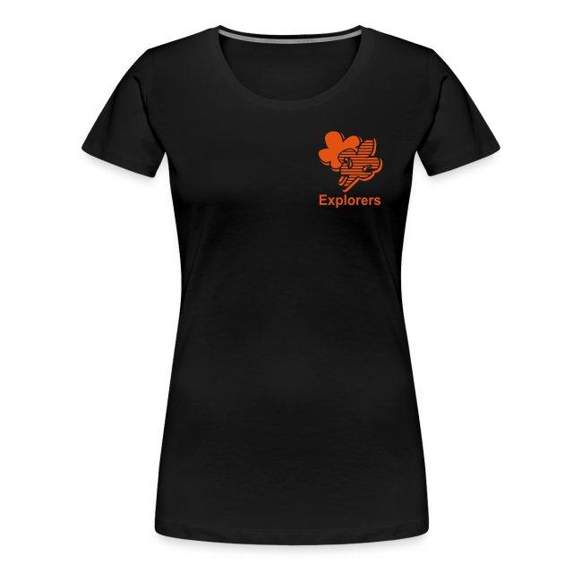 Explorers t-shirt Dames