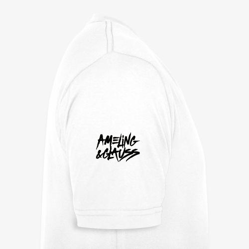 Ameling & Glauss Shirt White - Männer Bio-T-Shirt mit V-Ausschnitt von Stanley & Stella