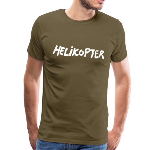 T-shirt Premium, HELIKOPTER Repmånad - Premium-T-shirt herr