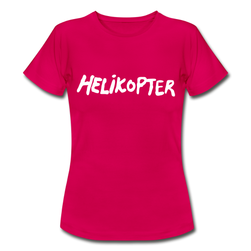 T-shirt dam, HELIKOPTER Repmånad - T-shirt dam