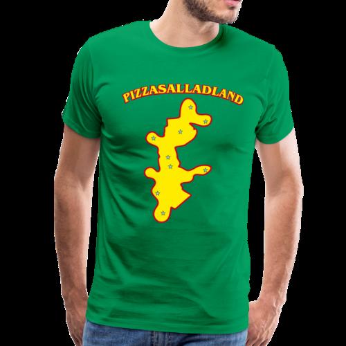 T-shirt Premium, Pizzasalladland - Premium-T-shirt herr