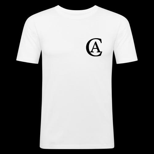 Carinano White Edition Shirt - Männer Slim Fit T-Shirt