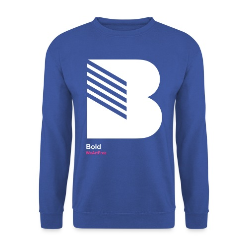 WAF28B - B Bold - Men's Sweatshirt