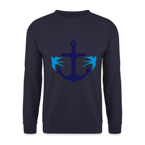 swallow/anchor sweatshirt - Men's Sweatshirt