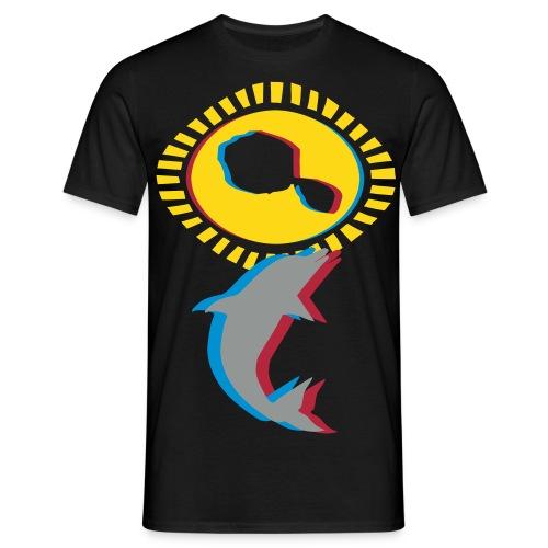 3d t-shirt TAHITI  - T-shirt Homme