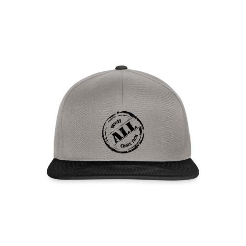 Snapback Cap Well all Choix zielt - Snapback Cap