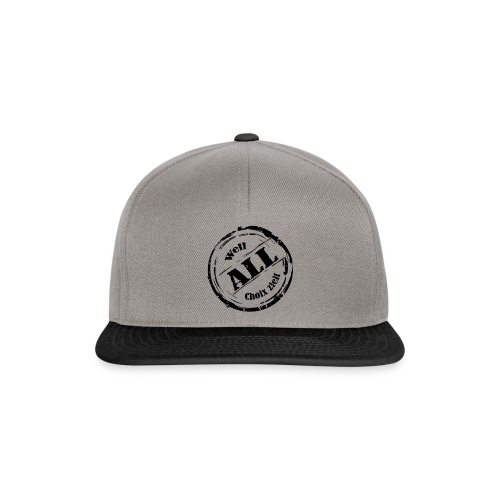 Snapback Cap Well all Choix zielt - Snapback Cap