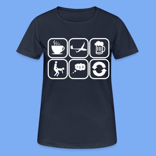 mein Tag als Segelflieger - Geschenk - Women's Breathable T-Shirt