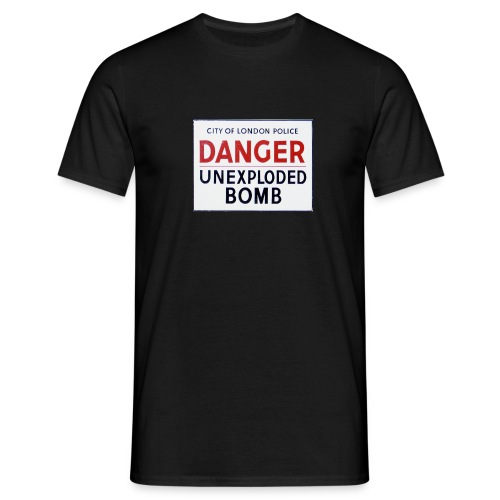 Unexploded Bomb - Männer T-Shirt
