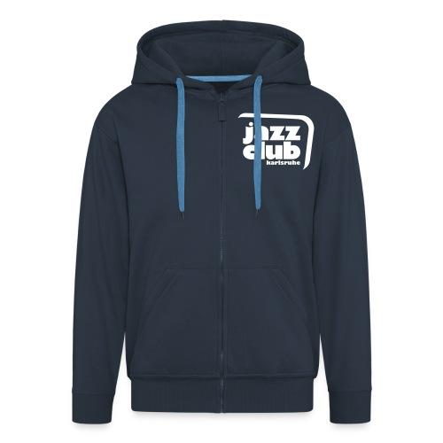 Kapuzen-Zipper - Männer Premium Kapuzenjacke