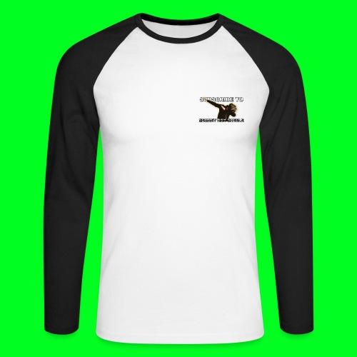 Dab Baseball T-Shirt - Men's Long Sleeve Baseball T-Shirt