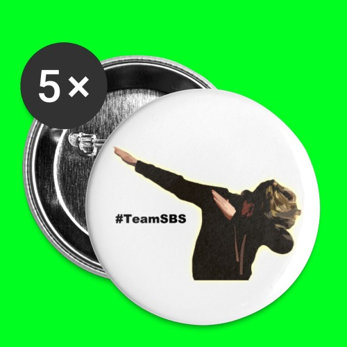 #TeamSBS Pins - Buttons small 25 mm