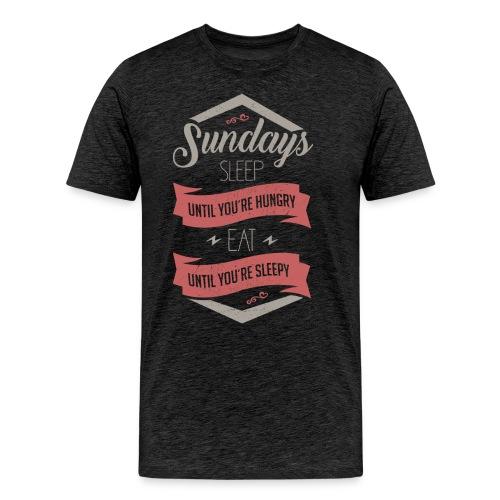Sundays - Männer Premium T-Shirt