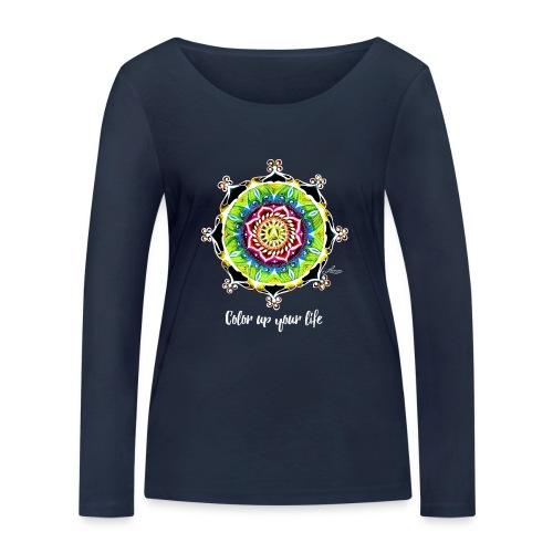 Bio Langarmshirt - Color up your Life (Mädels) - Frauen Bio-Langarmshirt von Stanley & Stella