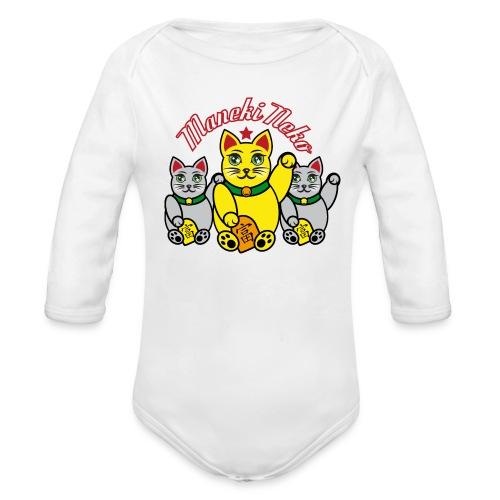 Baby Bio-Langarm-Body - Maneki Neko - Baby Bio-Langarm-Body