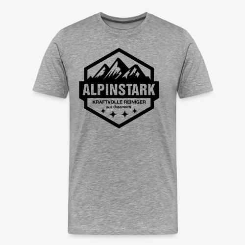 Alpinstark - T-Shirt - Männer Premium T-Shirt