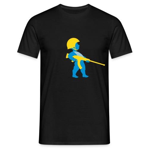 Cupido soldat - Männer T-Shirt