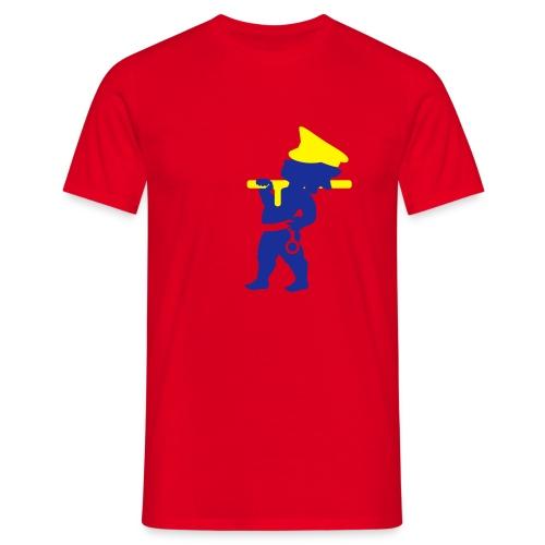 police - Männer T-Shirt
