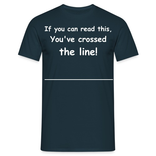 If you can read this - Herre-T-shirt