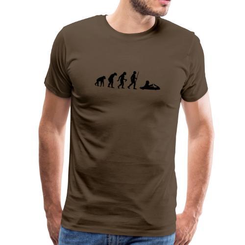 T-Shirt Kart Evolution - Männer Premium T-Shirt