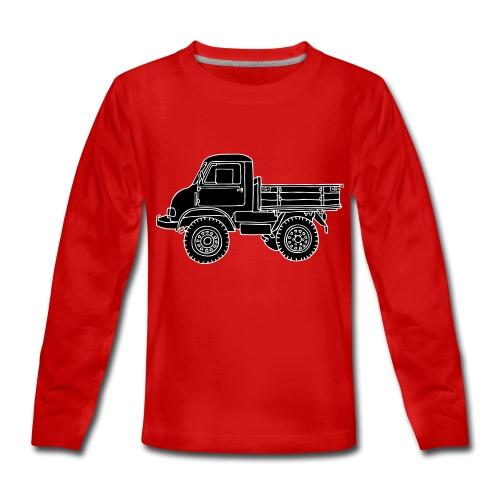 Lastwagen 2 - Teenager Premium Langarmshirt
