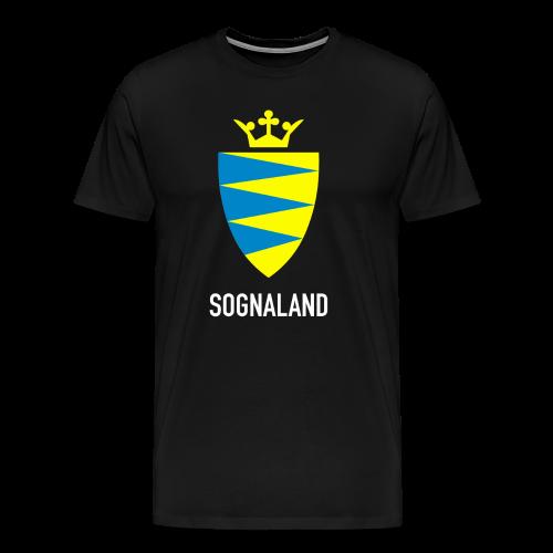 Sognaland - Premium T-skjorte for menn