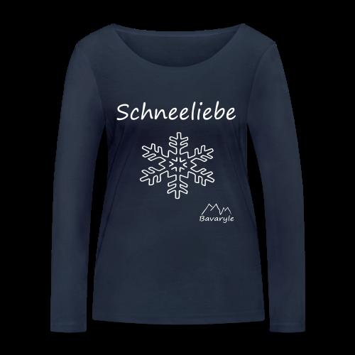 Bio Langarmshirt für Damen Schneeliebe - Frauen Bio-Langarmshirt von Stanley & Stella