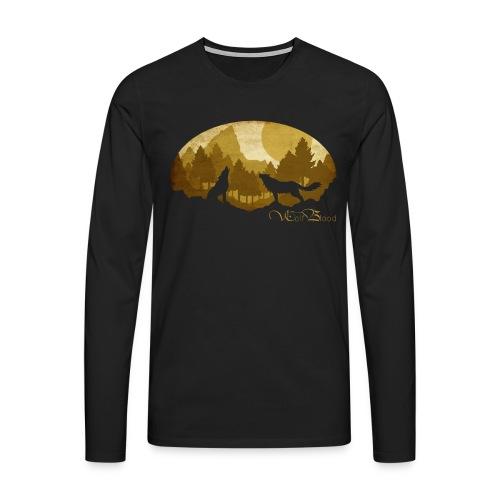 PaperCut - Wolf Blood – Langarmshirt - Männer Premium Langarmshirt