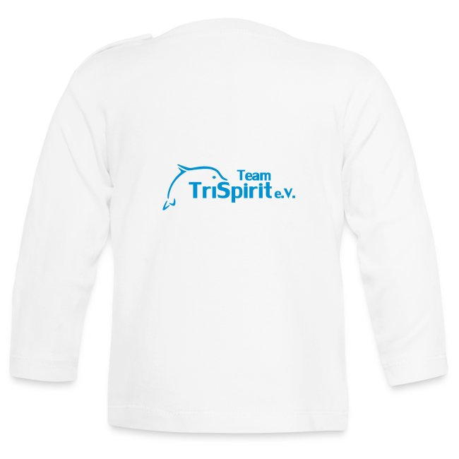 Leni Blumen2 Shirt langarm blaues Logo