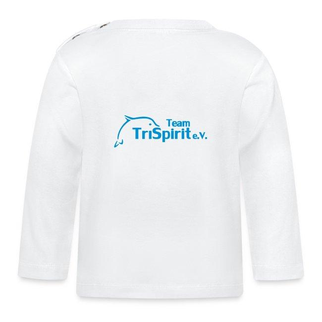 Leni Shirt langarm blaues Logo