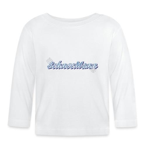 Schneemann - Baby Langarmshirt