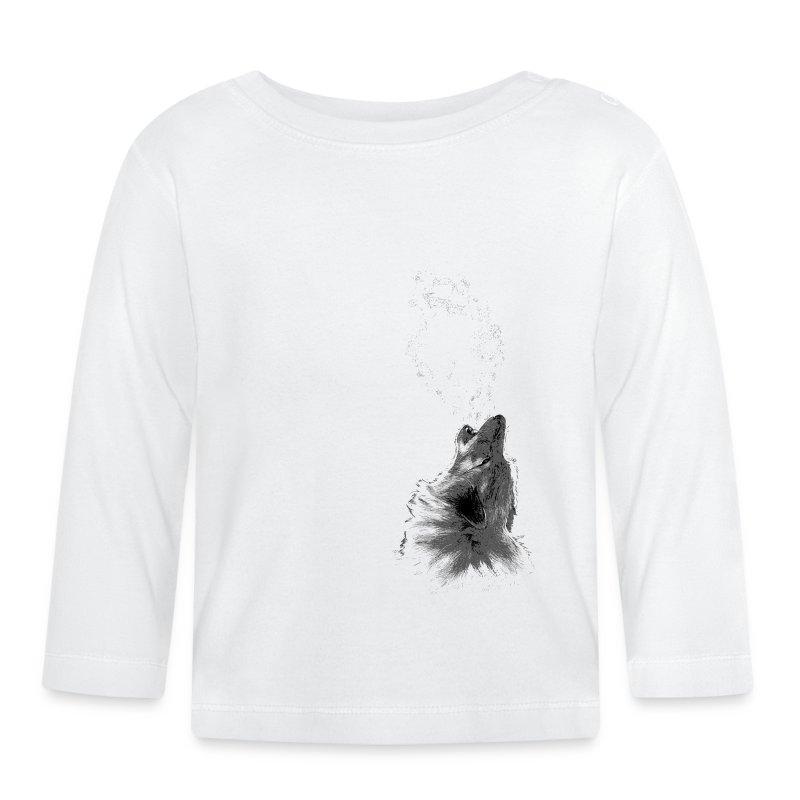 Loup - T-shirt manches longues Bébé