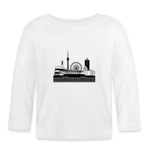 Skyline von Stgt - Baby Langarmshirt