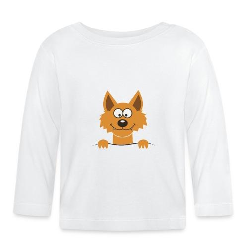 Funny cute Fox Lapset & vauvat - Baby Langarmshirt