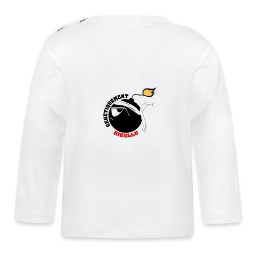 Génétiquement Ribellu ENFANT - T-shirt manches longues Bébé