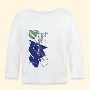 Baby LangarmShirt- zersplittert - Baby Langarmshirt