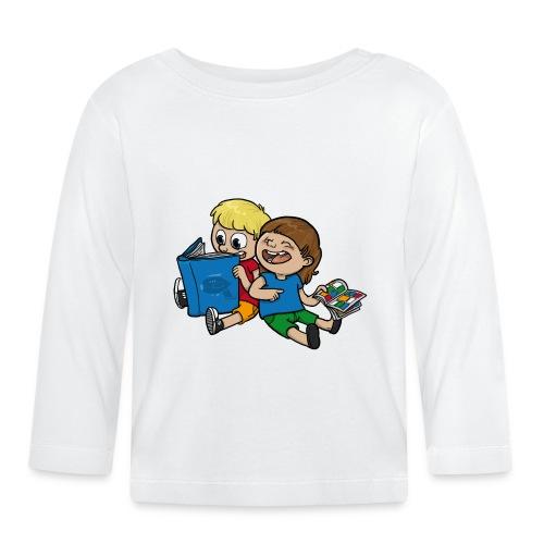 Für mehr Lesen (Kind) - Baby Langarmshirt