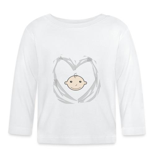 Hart en babyhoofdje - T-shirt