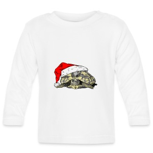 Christmas Tortoise Toddler's Tee - Baby Long Sleeve T-Shirt