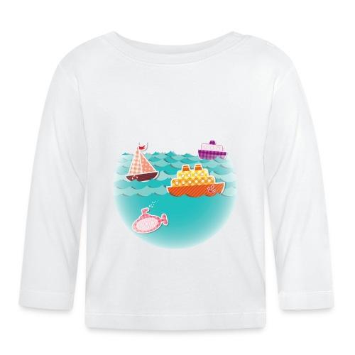 Camiseta barquitos - Camiseta manga larga bebé