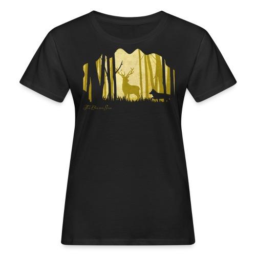 PaperCut - The Golden Stag - T-Shirt - Frauen Bio-T-Shirt