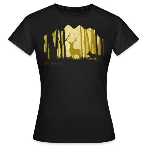 PaperCut - The Golden Stag - T-Shirt - Frauen T-Shirt