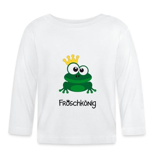 "Baby Langarmshirt ""Froschkönig"" - Baby Langarmshirt"