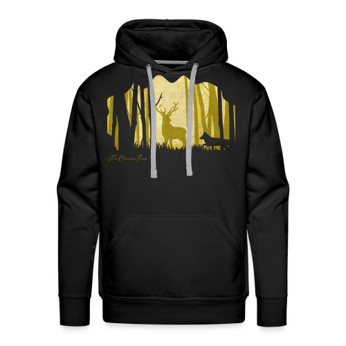 PaperCut - The Golden Stag - Hoodie - Männer Premium Hoodie